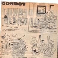 Lot De Plus De 150 Dessins Humoristiques Découpés Dans Journaux, Auteur GONDOT, Humour, Images - Other Collections