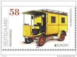 2013 Germany - Europa CEPT - Posstal Transport - 1v MNH** MI 3007 - BRD