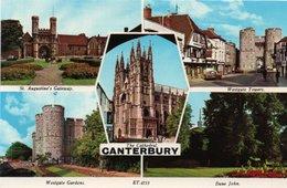 CANTERBURY- CATHEDRAL-NON VIAGGIATA - Canterbury