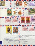 Afrika -  Kongo - Kinshasa > Zaire   12 Briefe - Zaire