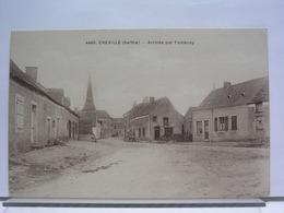 72 - CHEVILLE - ARRIVEE PAR FONTENAY - France