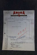 Facture Ancienne - DIJON: AMORA, La Moutarde De DIJON. - 1900 – 1949