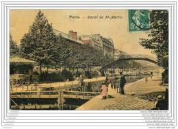 75010 - PARIS - Canal Saint Martin (toilee Couleur) - District 10