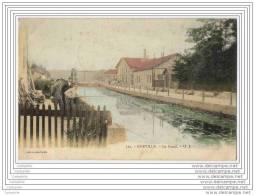52 - EURVILLE - Le Canal (pecheur) - Francia