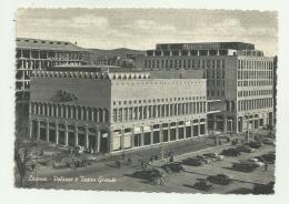 LIVORNO - PALAZZO E TEATRO GRANDE   VIAGGIATA FG - Livorno