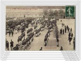 02 - LA FERE - Revue De Depart Du 17e Regiment D Artillerie - Cyclistes - Fere En Tardenois