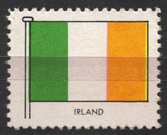 Ireland Éire - Communist FLAG FLAGS / Cinderella Label Vignette - Germany Ed. 1950's - Altri