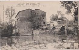 CP 47 DURAS MOULIN DE L'EGALITE LAMBERT PROPRIETAIRE - France