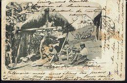 """BOLIVIE - CPA """"Carpa De IndiosYunguenos"""" Ed. De Notta La Paz - Voir Cachet Au Verso - - Bolivie"""