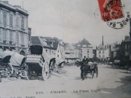 BZ - 80 -  AMIENS - Place Vogel  - Charette - Amiens