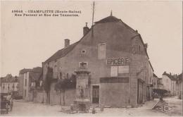 CP 70 CHAMPLITTE RUE PASTEUR ET RUE DES TANNERIES - France