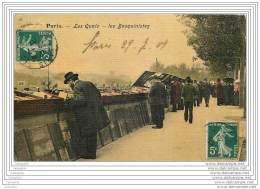 75004 - PARIS  - Les Quais - Les Bouquinistes - Toilee Couleur - Arrondissement: 04