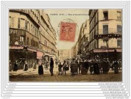 75 - PARIS - Rue D Aubervilliers (belle Animation Couleur) - District 19