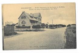 PENTHIEVRE (56) Route Nationale De Quiberon à Saint Malo Hotel Des Pins - Quiberon