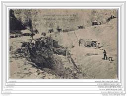 51 ? - Carte Allemande - Carrieres - Abris D Equipe Dans La Roche Cretacee De Champagne - Other Municipalities