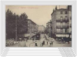 26 - VALENCE - Faubourg Saint Jacques (train En Ville) - Valence