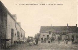 D89  VILLEFRANCHE ST PHAL  Ferme Des Barbets - France
