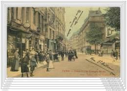 75004 - PARIS  - Pointe Et Rue Francois Miron  (animee Toile Couleur) - Arrondissement: 04