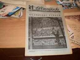 Newspaper Olipijada Glasnik Jugoslovenskog Olimpijskog Komiteta  Godina ! Broj 2 Beara  Helsinki 1954 - Books
