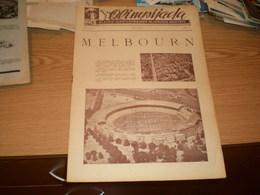Newspaper Olipijada Glasnik Jugoslovenskog Olimpijskog Komiteta  Godina 3 Broj 8 Melbourn 1956 - Libros