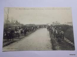 Entrée De Monseigneur Duparc à SAINT POL DE LEON-Les Cavaliers Formant La Haie à La Gare De Plouenan - Saint-Pol-de-Léon