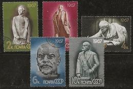 Russie 1967 N°Y.T. : 3215 à 3219 Obl. - 1923-1991 URSS