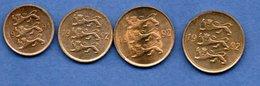 Estonie / Lot De 4 Monnaies / SPL - Estonie