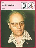 Olivier Messiaen, Compositeur, Ornithologue, Apport Considérable à La Musique Contemporaine, Chrétien , 1808 1992 - Histoire