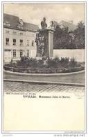 NIVELLES ..-- Brt Wall. ..-- Monument Jules De Burlet . - Nivelles