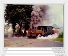 Chemin De Fer Baie De Somme - Locomotive 020 Corpet-Louvet Au Depart De ST Valery Vers Noyelles - Saint Valery Sur Somme