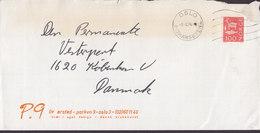 Norway LIV ØRSTED Dansk Brukskunst OSLO HOMANSBYEN 1974 Cover Brief Denmark - Norwegen