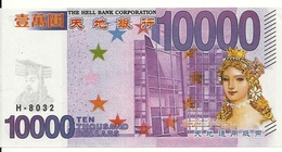 10000 DOLLARS BANK OF THE HELL - Billets