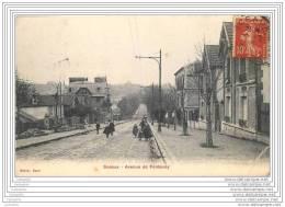 92 - SCEAUX - Avenue De Fontenay - Sceaux