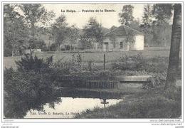 LA HULPE ..-- Brt Wall. ..--  Prairies De La Ramée . 1909 Vers BURDINNE ( Melle Elie TAHIR ) . Voir Verso . - La Hulpe