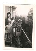 Paris - Enfants Sur Balcon Année 1930 1940 - Lieux