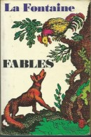 JEAN DE LA FONTAINE / FABLES / LIVRE DE ¨POCHE 1977 R9 - Poetry