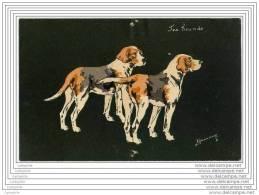 Fox Hounds - Chiens De Chasse - Illustrateur Espinasse (avant 1904) - Chiens