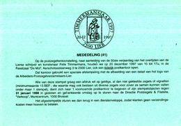 België - Dienstpostkaart 41/1997 - 20-12-1997 - Timmermansjaar 1997 - Felix Timmermans - Lier - Schrijvers
