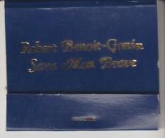 PETITE POCHETTE D'ALLUMETTE - ROBERT BENOIT GONIN - SAVA MON BRAVE - Manque 1 ALLUMETTE - BLEU - BRITISH MADE - Boites D'allumettes