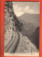 DA07-01  Chemin De Fer Martigny _ Chamonix, Près Finhaut, Tunnel Lachat. Non Circulé - VS Wallis