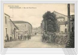 85 - MONTOURNAIS - Rue Du Pont Pourri - Francia