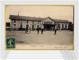 91 - CORBEIL - La Gare (attelages Pp) - Corbeil Essonnes
