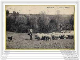 94 - ORMESSON - La Vallee D AMBOISE (berger, Son Chien Et Ses Moutons) - Ormesson Sur Marne