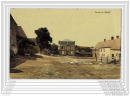 95 - Ferme De BUHY (belle Carte Toilee En Couleur) - France