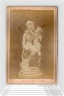 Exposition Universelle De 1878 A Paris - Photo Sur Carton - Amour Rend Aveugle - Italie Italia - Fotos