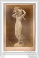 Exposition Universelle De 1878 A Paris - Photo Sur Carton - Amour Rend Aveugle - Italie Italia - Old (before 1900)