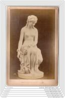 Exposition Universelle De 1878 A Paris - Photo Sur Carton - Prisonniere D Amour - Italie Italia - Photos