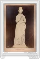 Exposition Universelle De 1878 A Paris - Photo Sur Carton - Sculpture - La Lecture - Italie Italia - Old (before 1900)