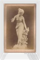 Exposition Universelle De 1878 A Paris - Photo Sur Carton - Sculpture - La Rose D Amour - Italie Italia - Fotos