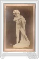 Exposition Universelle De 1878 A Paris - Photo Sur Carton - Sculpture Le Pecheur Napolitain - Italie Italia - Fotos
